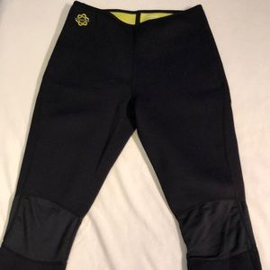 Zaggora Neoprene Hot Workout Pants Large